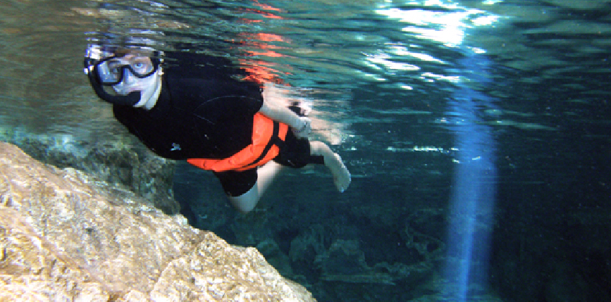 rio subterraneo, cenote